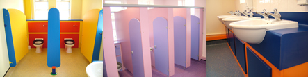 Little Gems - Educational Establishment - Washrooms Cubicles Systems